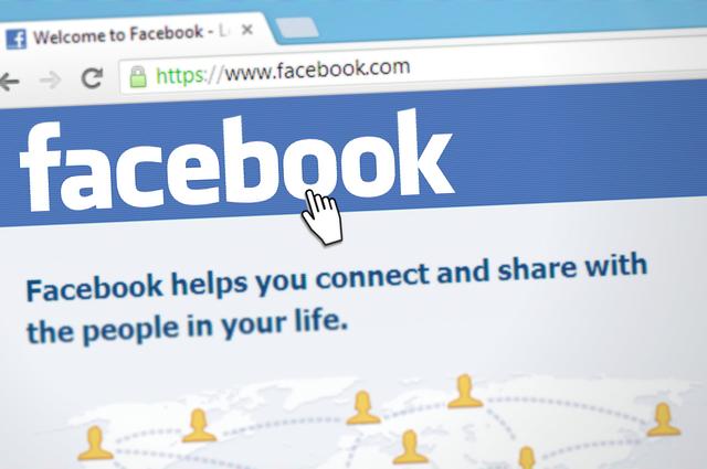 facebook v liště
