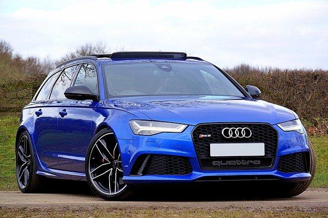 modré Audi
